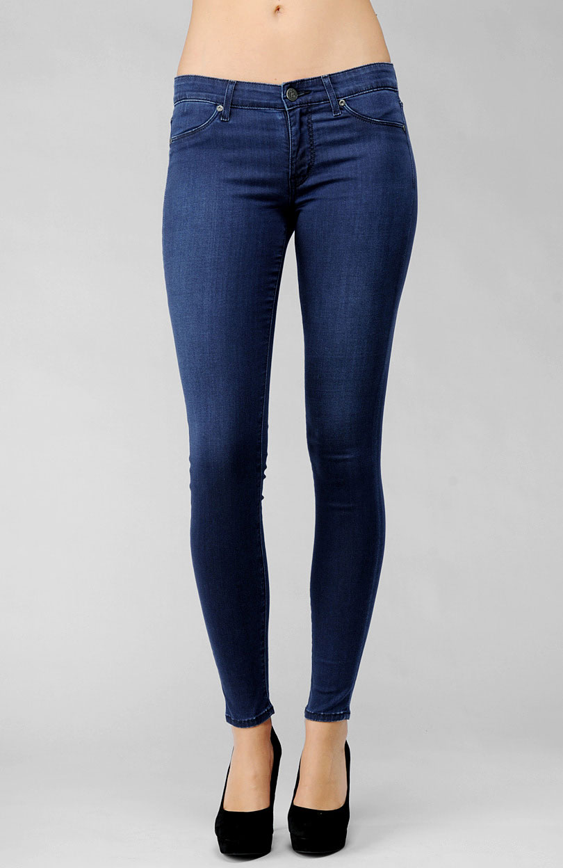 rich skinny jeans - Jean Yu Beauty