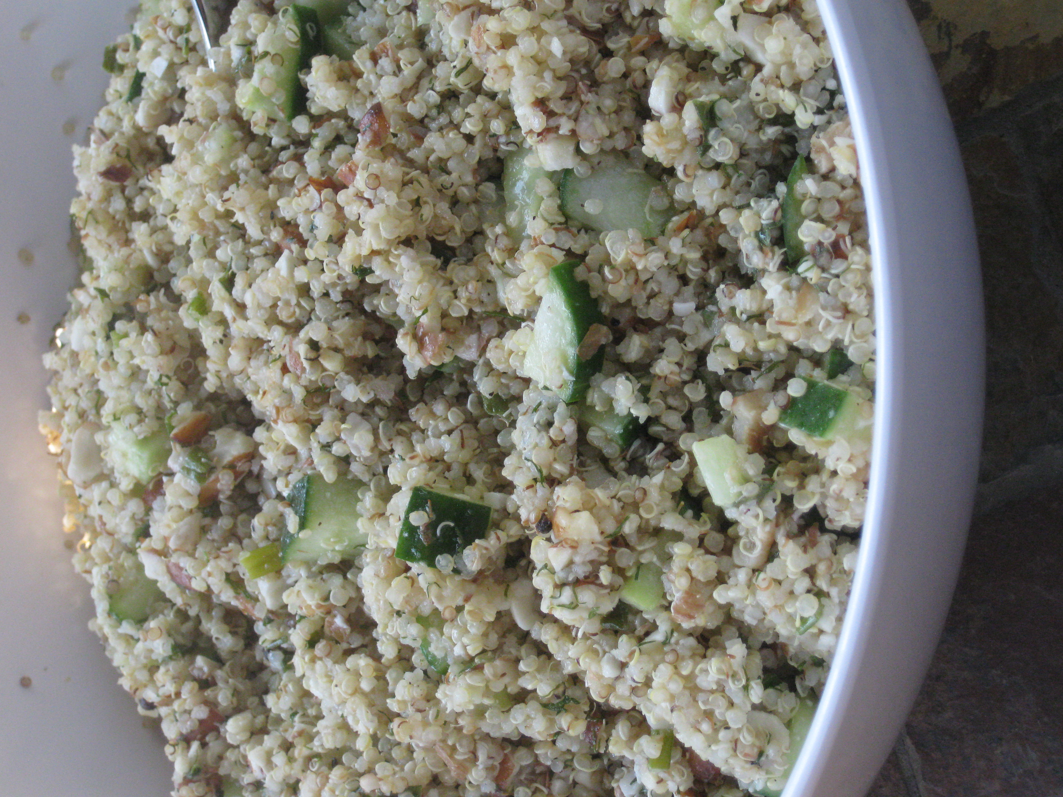 A Quinoa Feast: Part 1 | The Toque Girls